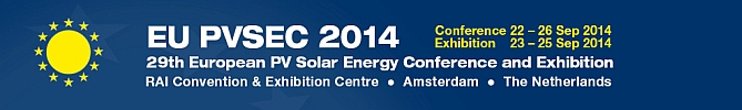 29th European 2014 Photovoltaic Solar Energy Conference & Exhibition Amsterdam